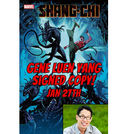 MARVEL COMICS AUTHOR SIGNED SHANG-CHI #5 MARVEL VS ALIEN VAR PRE-ORDER