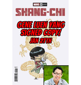 MARVEL COMICS AUTHOR SIGNED SHANG-CHI #5 YOUNG VAR PRE-ORDER