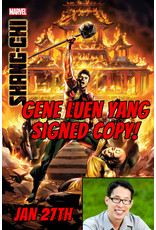 MARVEL COMICS AUTHOR SIGNED SHANG-CHI #5 (OF 5) PRE-ORDER