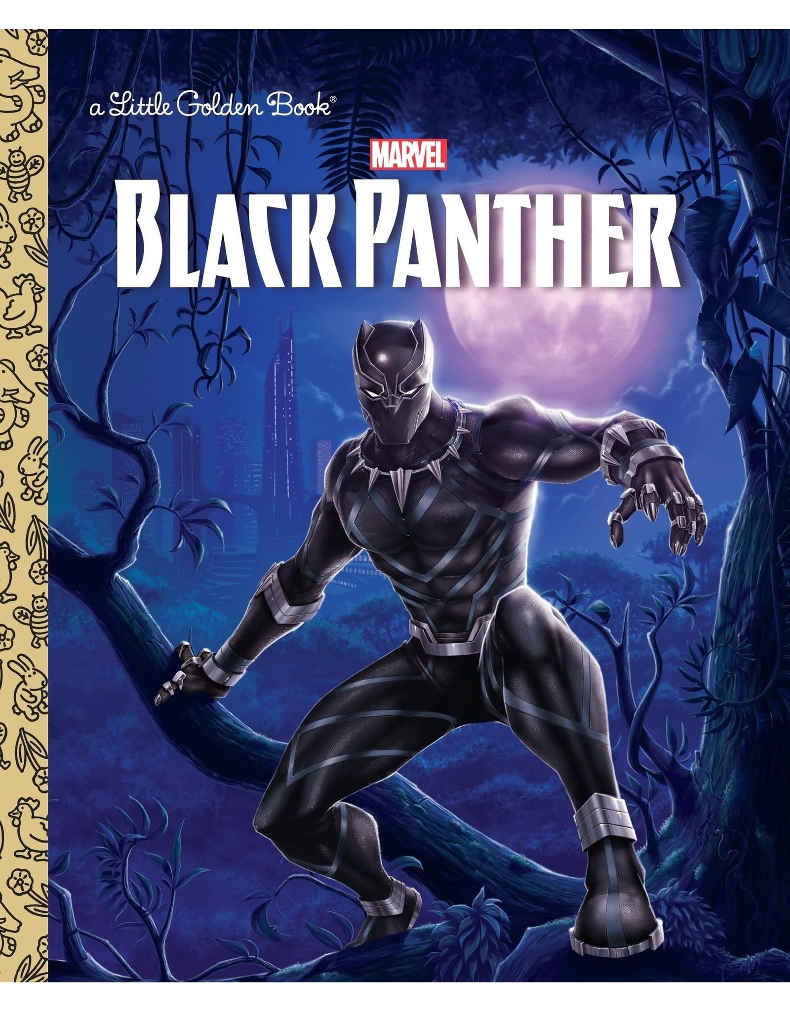 BLACK PANTHER LITTLE GOLDEN BOOK (MARVEL- BLACK PANTHER)