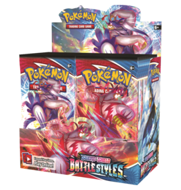 POKEMON COMPANY INTERNATIONAL POKEMON TCG BATTLE STYLES BOOSTER BOX PRE-ORDER