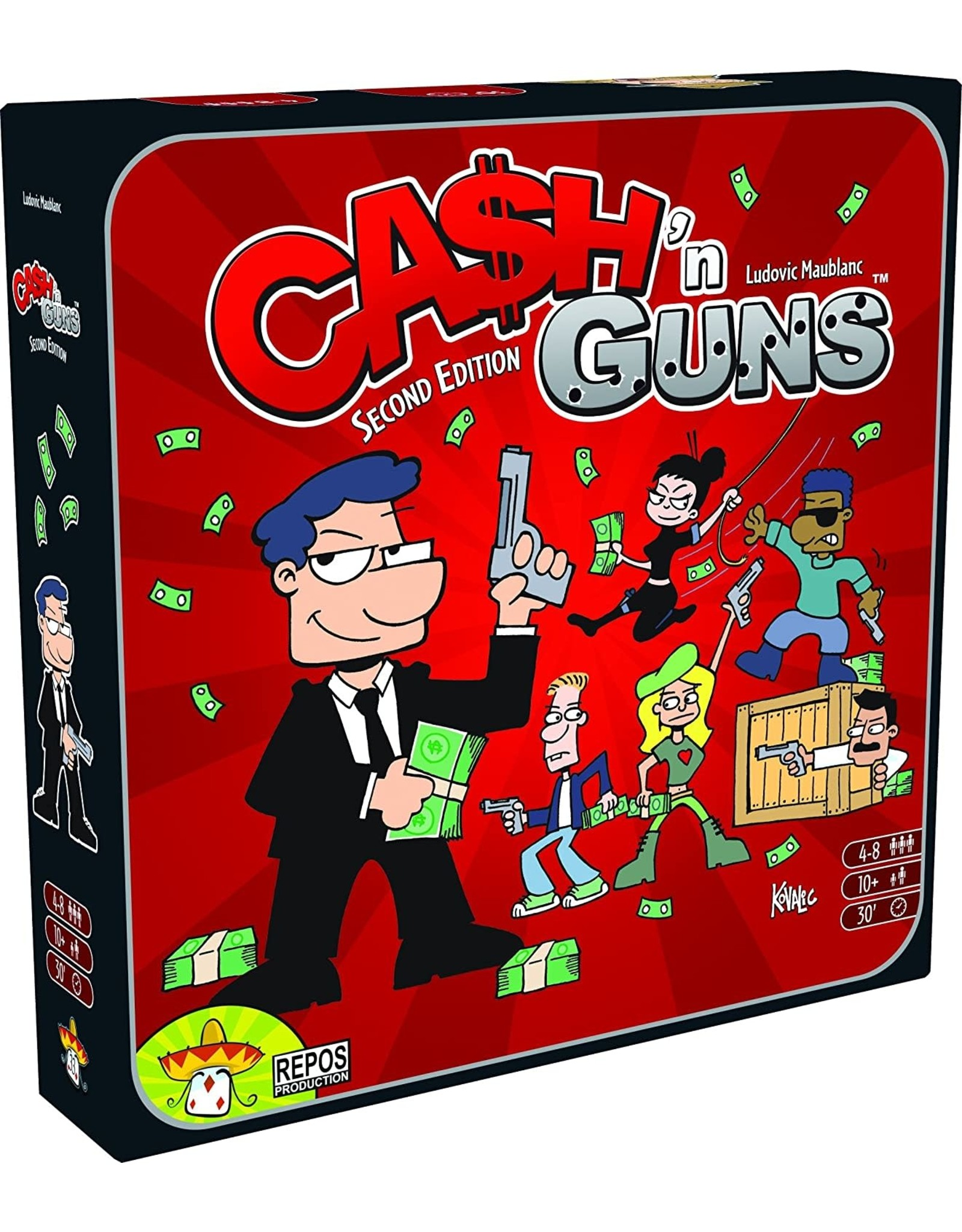 REPOS PRODUCTION CASH N GUNS 2ND ED