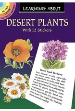 DOVER PUBLICATIONS LEARNING ABOUT DESERT PLANTS STICKER BOOK