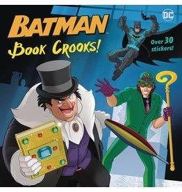 RANDOM HOUSE DC SUPER HEROES BATMAN BOOK CROOKS PICTUREBACK