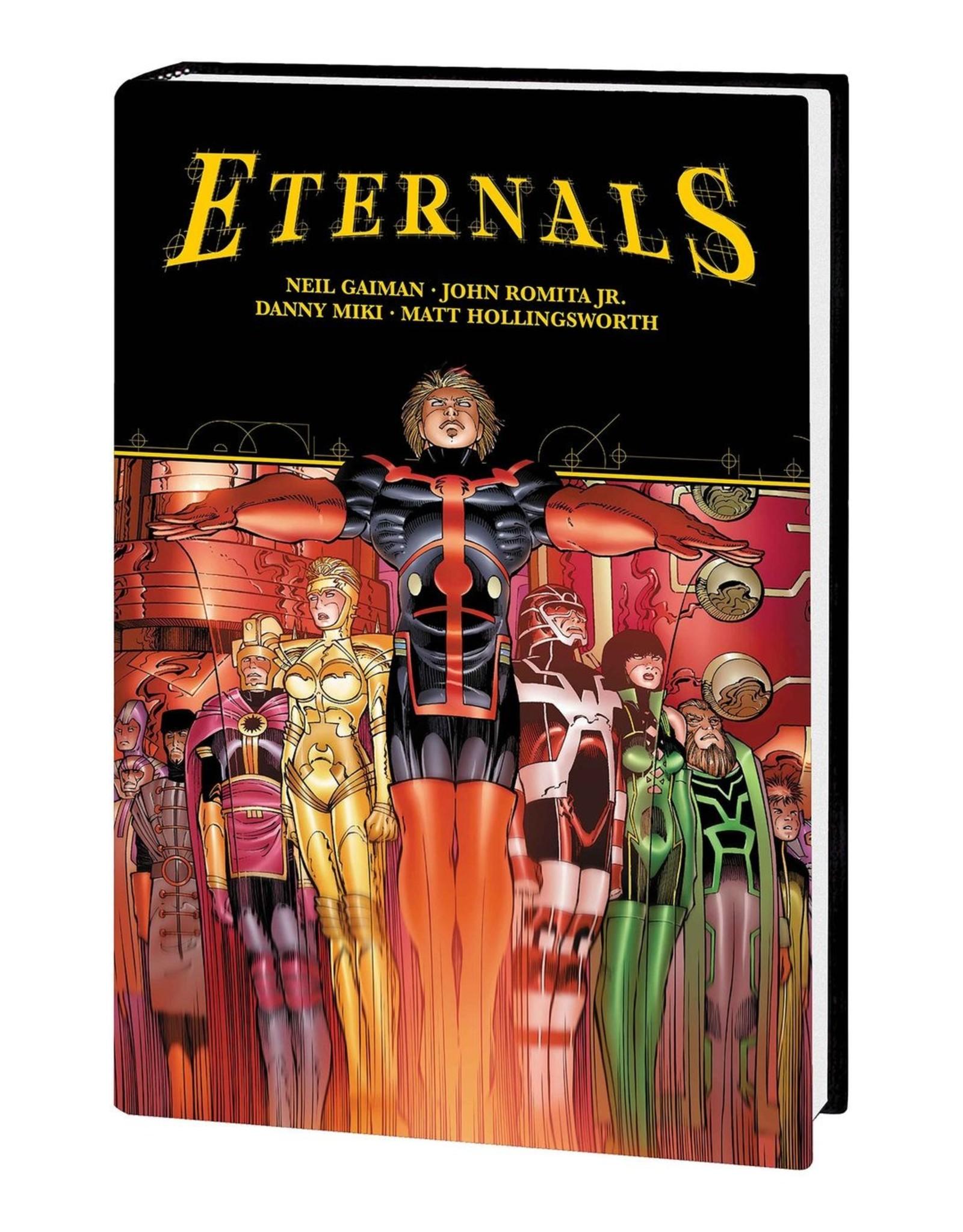 MARVEL COMICS ETERNALS BY GAIMAN & ROMITA JR HC