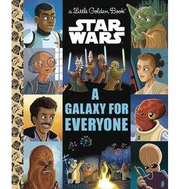 GOLDEN BOOKS STAR WARS GALAXY OF HOPE LITTLE GOLDEN BOOK
