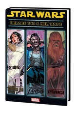 MARVEL COMICS STAR WARS HEROES FOR NEW HOPE HC