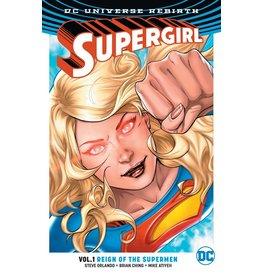 DC COMICS SUPERGIRL TP VOL 01 REIGN OT CYBORG SUPERMEN (REBIRTH)
