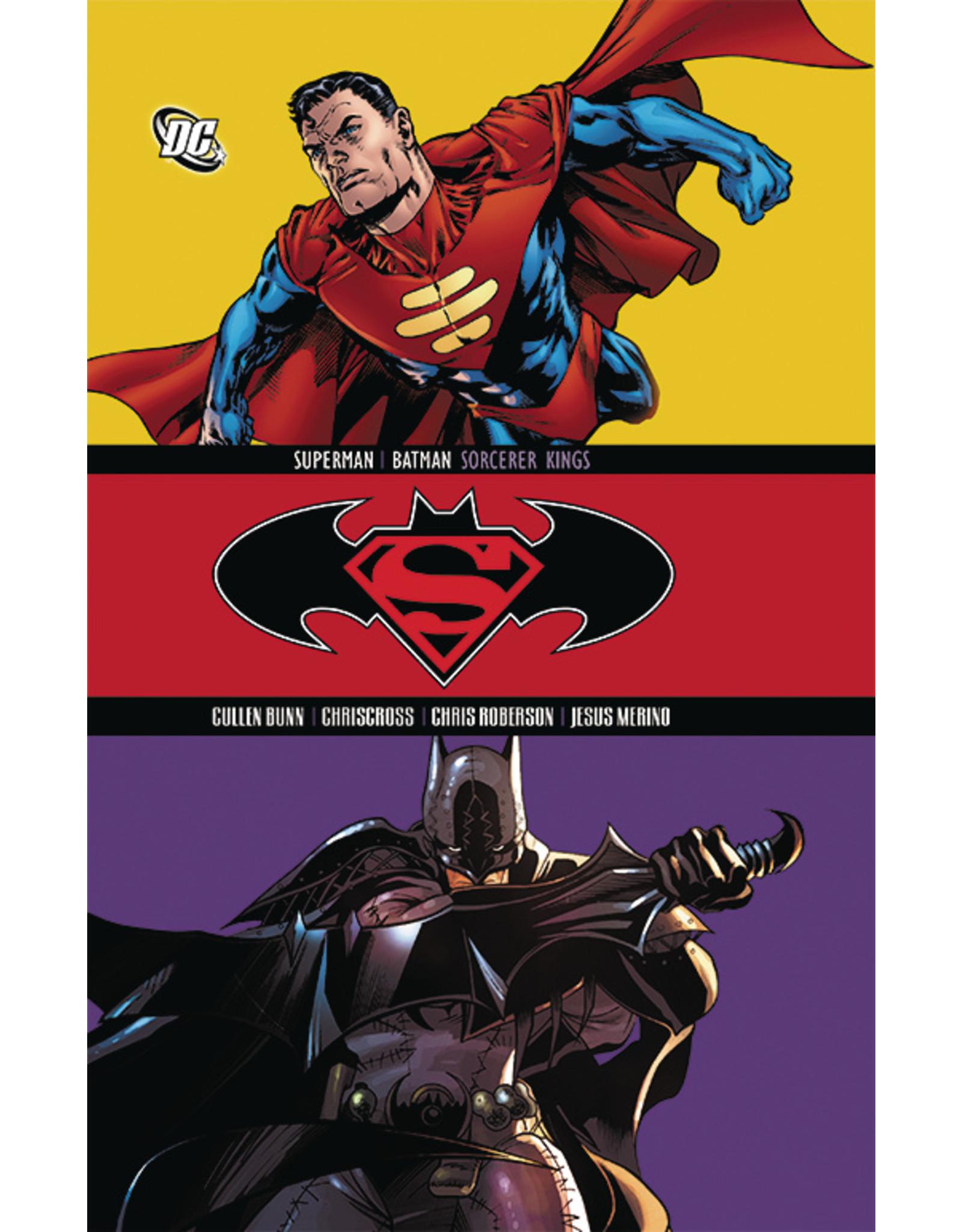 DC COMICS SUPERMAN BATMAN TP VOL 12 SORCERER KINGS