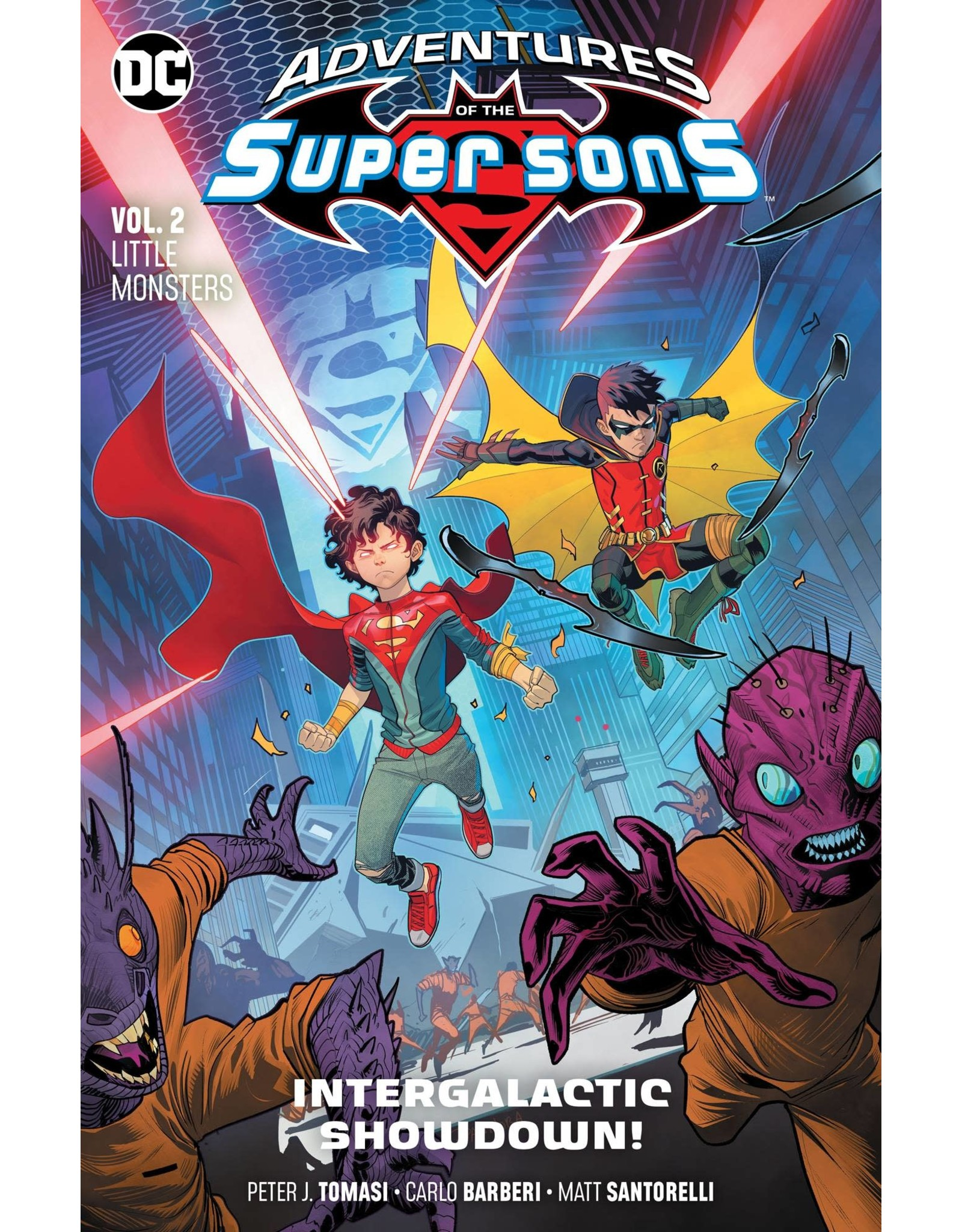 DC COMICS ADVENTURES OF THE SUPER SONS TP VOL 02 LITTLE MONSTERS