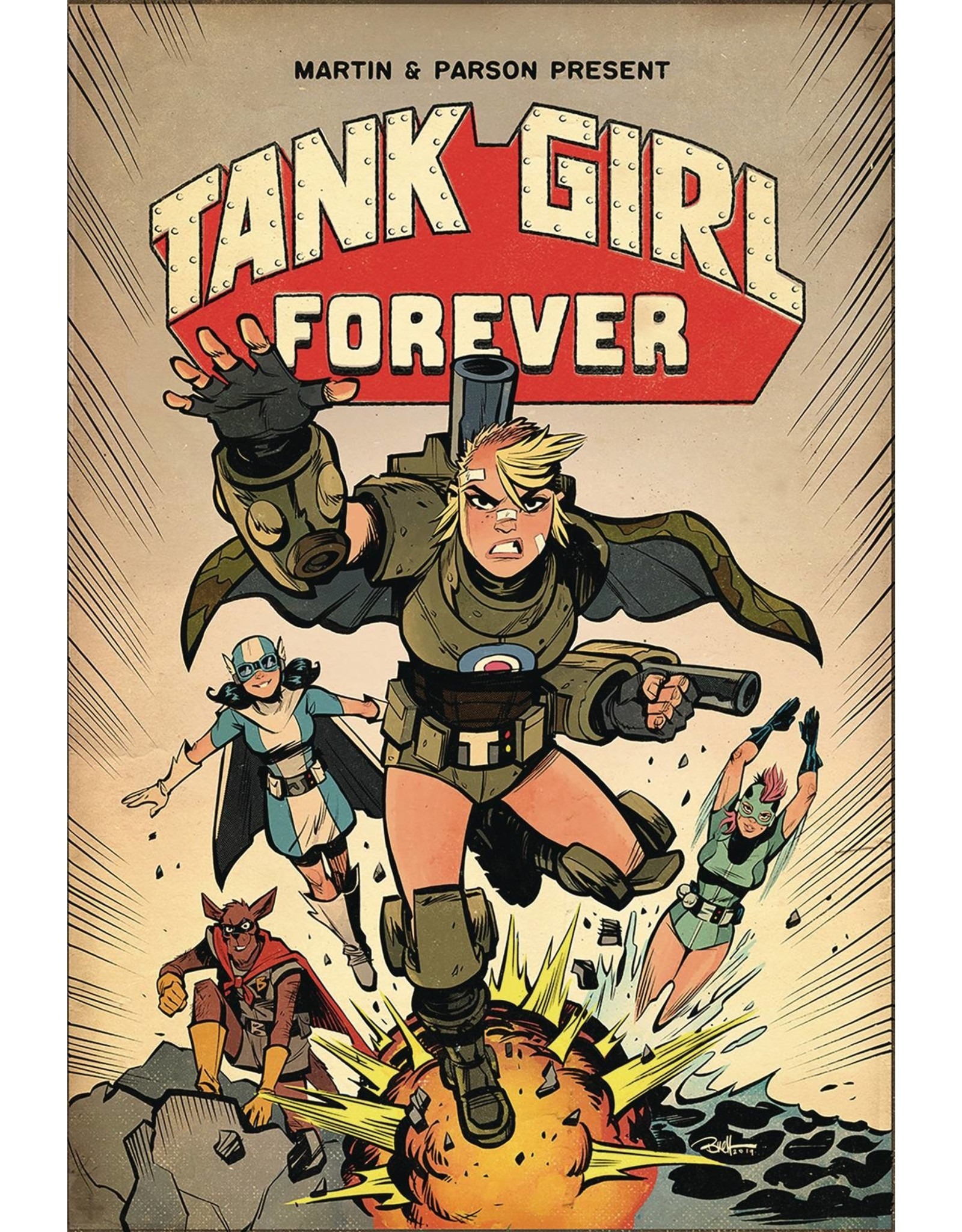 TITAN COMICS TANK GIRL TP VOL 02 TANK GIRL FOREVER