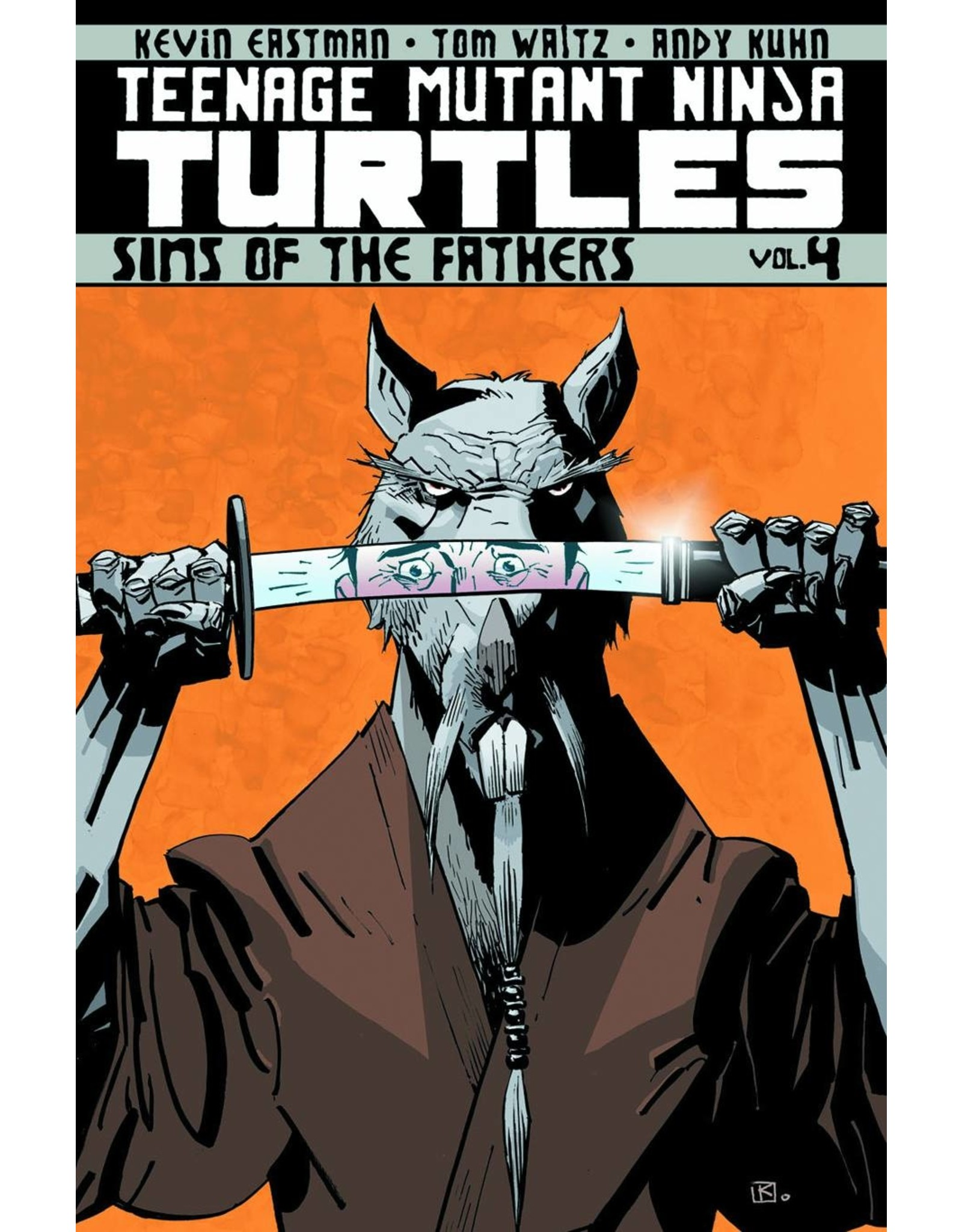 IDW PUBLISHING TMNT ONGOING TP VOL 04 SINS OF THE FATHERS