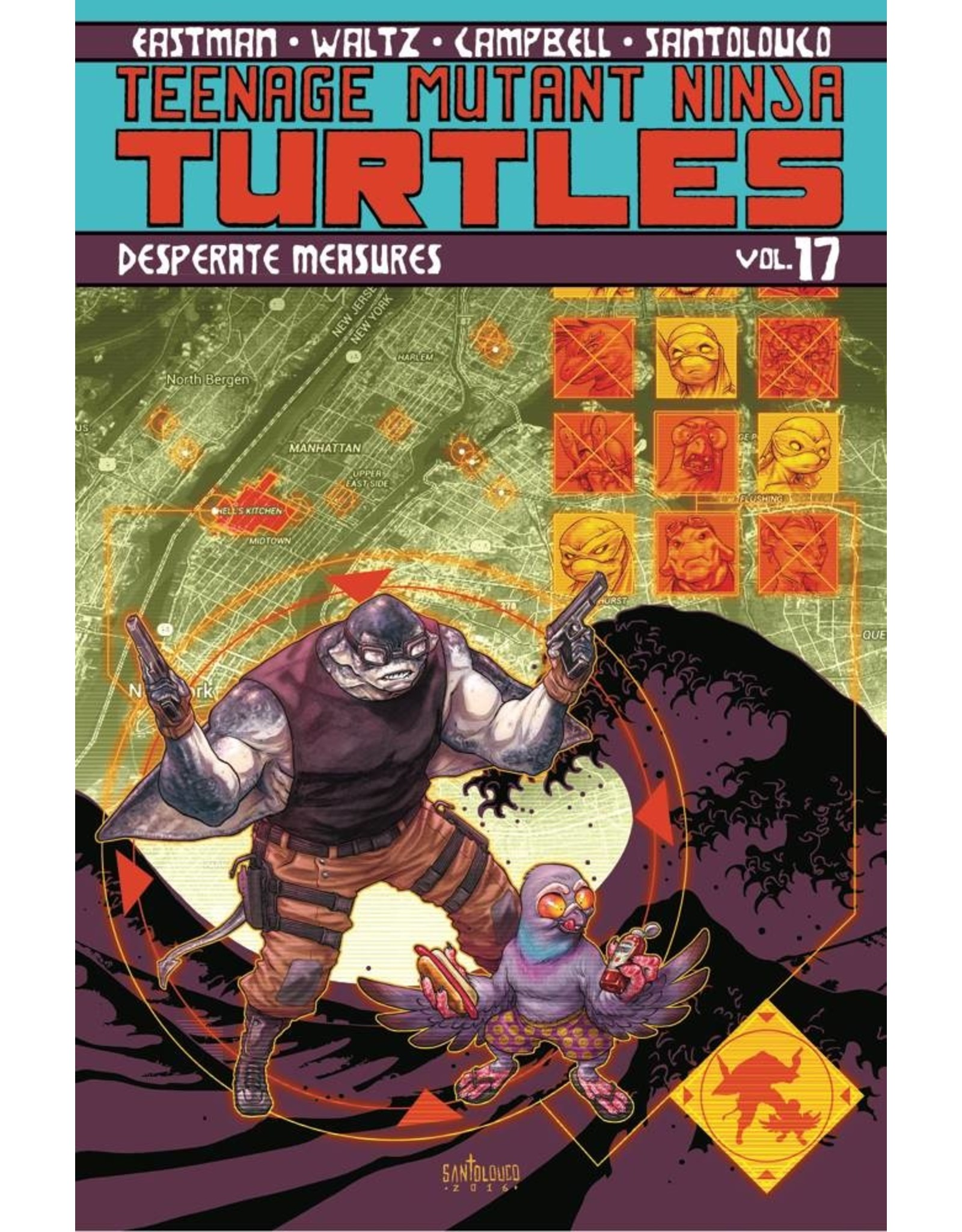 IDW PUBLISHING TMNT ONGOING TP VOL 17 DESPERATE MEASURES