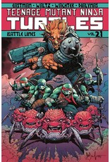 IDW PUBLISHING TMNT ONGOING TP VOL 21 BATTLE LINES