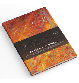 DUNE RPG PLAYER'S JOURNAL PRE-ORDER
