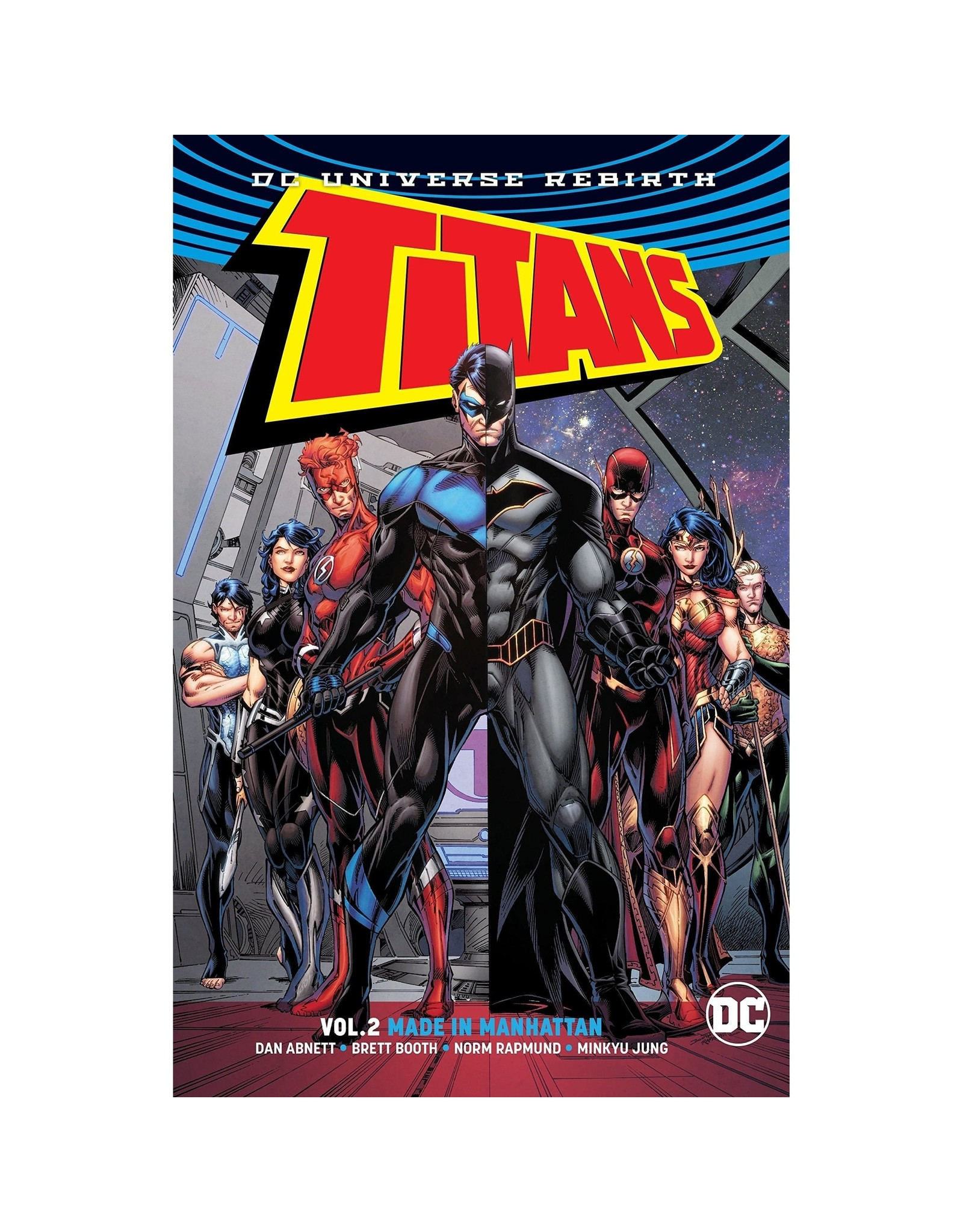 DC COMICS TITANS TP VOL 02 MADE IN MANHATTAN (REBIRTH)