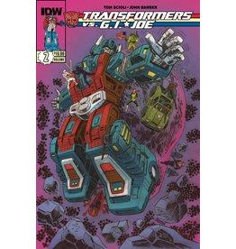 IDW PUBLISHING TRANSFORMERS VS GI JOE TP VOL 02