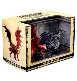 WIZKIDS PATHFINDER BATTLES CITY OF LOST OMENS ADULT RED & BLACK DRAGONS