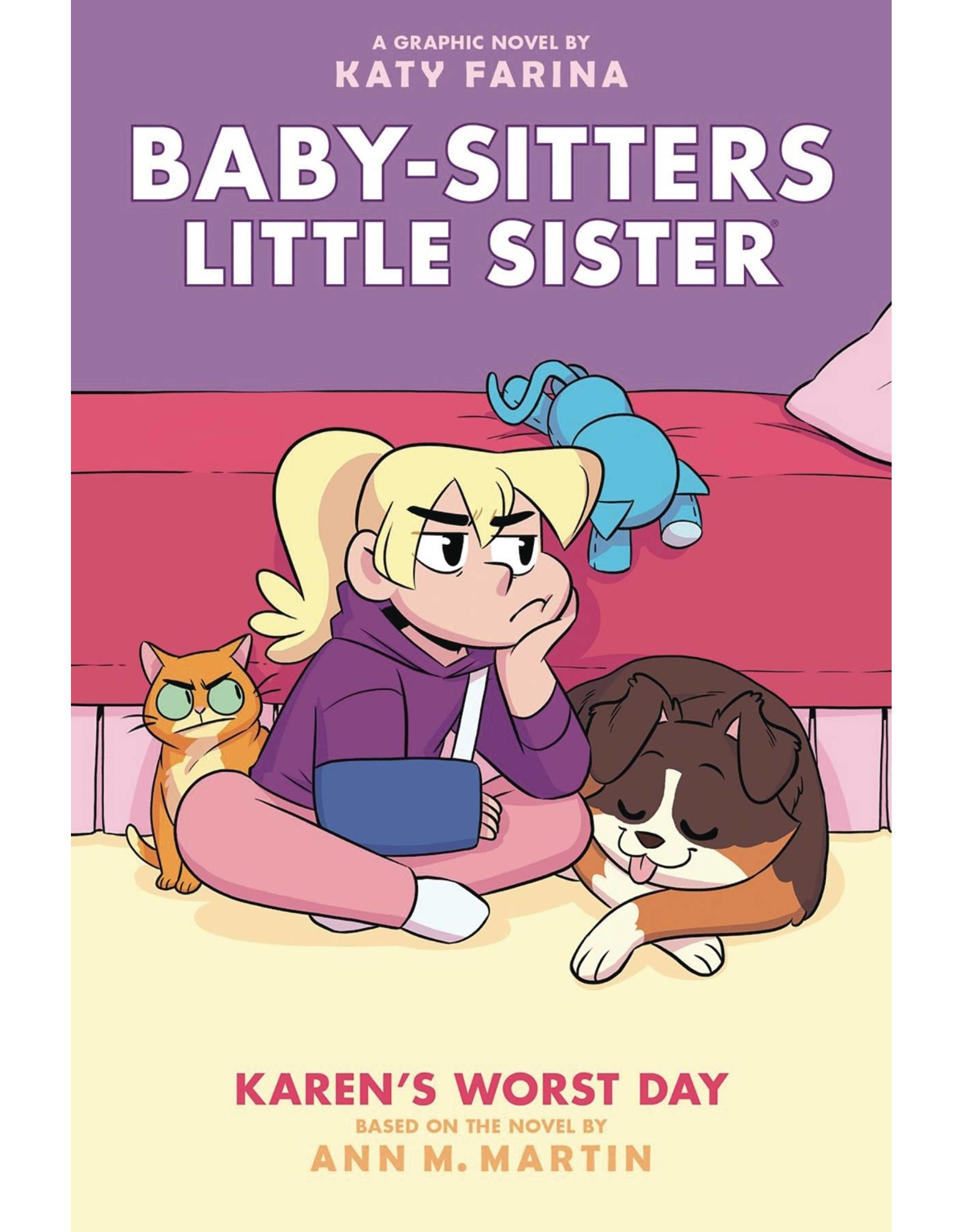 GRAPHIX BABY SITTERS LITTLE SISTER GN VOL 03 KARENS WORST DAY