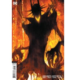DC COMICS DARK NIGHTS DEATH METAL #7 (OF 7) CVR C STANLEY ARTGERM LAU BATMAN WHO LAUGHS VAR