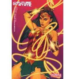 DC COMICS FUTURE STATE HARLEY QUINN #1 (OF 2) CVR C WONDER WOMAN 1984 JENNY FRISON CARD STOCK VAR
