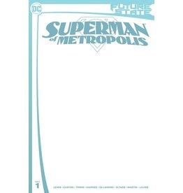 DC COMICS FUTURE STATE SUPERMAN OF METROPOLIS #1 (OF 2) CVR C BLANK CARD STOCK VAR