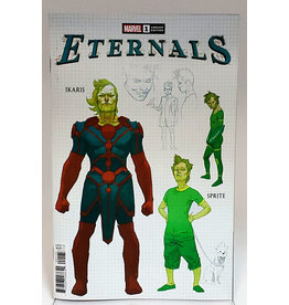 MARVEL COMICS ETERNALS #1 1:10 RIBIC DESIGN VAR