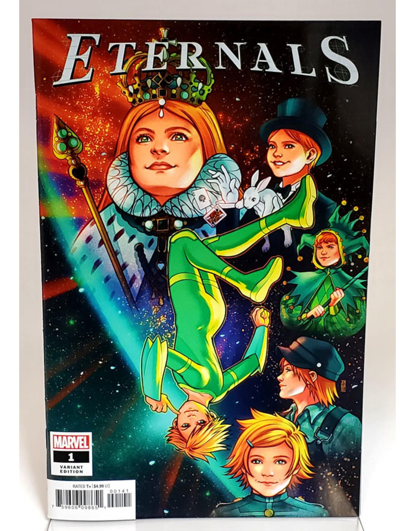 MARVEL COMICS ETERNALS #1 1:25 BARTEL VAR