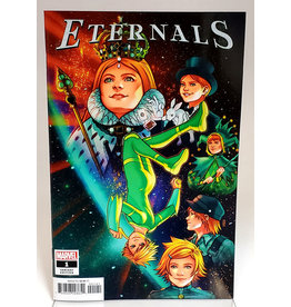 MARVEL COMICS ETERNALS #1 1:25 BARTEL VAR