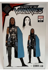 MARVEL COMICS KING IN BLACK RETURN OF VALKYRIES #1 (OF 4) 1:10 DE IULIS DESIGN