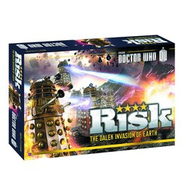 USAOPOLY RISK DOCTOR WHO COLLECTORS EDITION