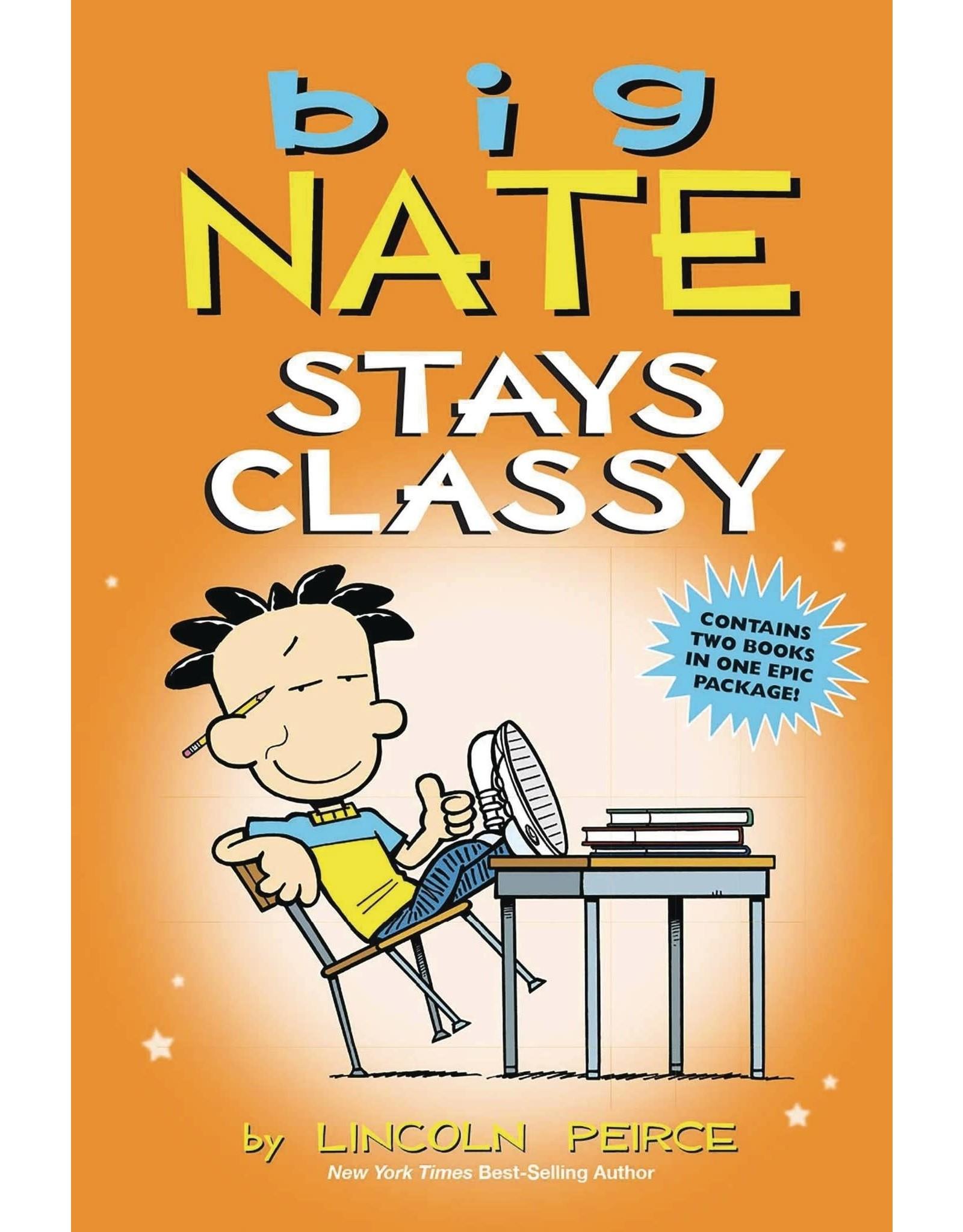 AMP! COMICS FOR KIDS BIG NATE STAYS CLASSY TP