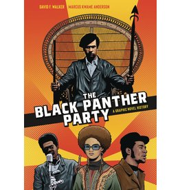 TEN SPEED PRESS BLACK PANTHER PARTY GRAPHIC HISTORY SC