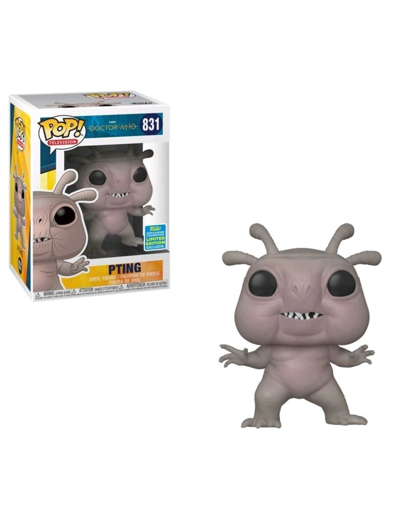 FUNKO DOCTOR WHO PTING POP 2019 SDCC