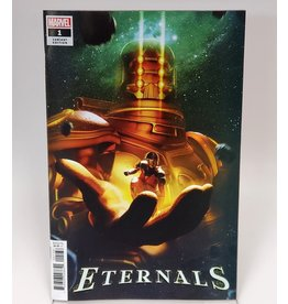 MARVEL COMICS ETERNALS #1 1:50 BOSSLOGIC VAR