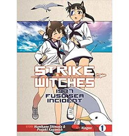 SEVEN SEAS ENTERTAINMENT LLC STRIKE WITCHES TP VOL 1 1937 FUSO SEA INCIDENT