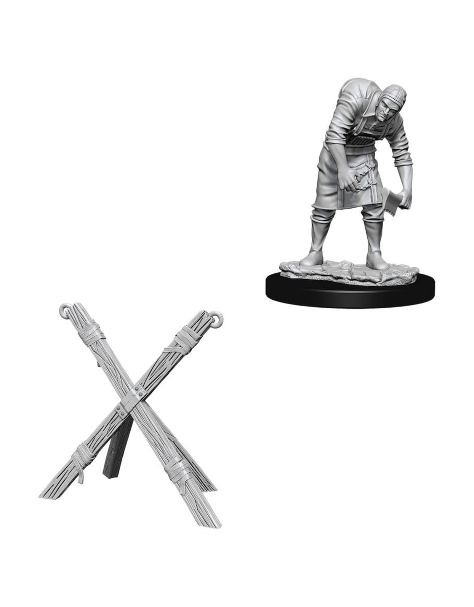 WIZKIDS DEEP CUTS ASSISTANT AND TORTURE CROSS UNPAINTED MINI