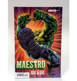 MARVEL COMICS MAESTRO WAR AND PAX #1 1:25 BENNETT VAR