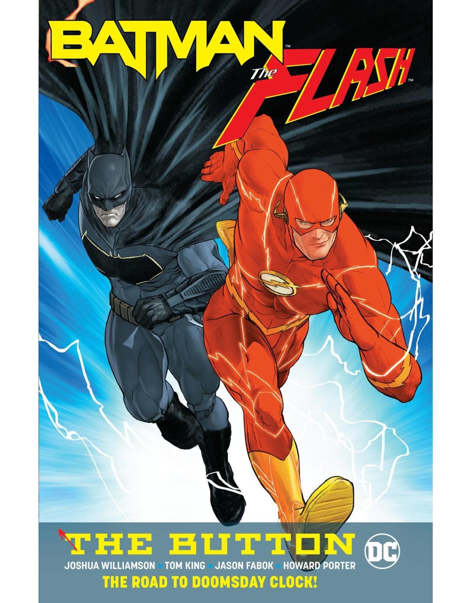 DC COMICS BATMAN FLASH THE BUTTON TP INTERNATIONAL ED