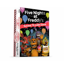 FUNKO FIVE NIGHTS AT FREDDYS SURVIVE TIL 6AM GAME