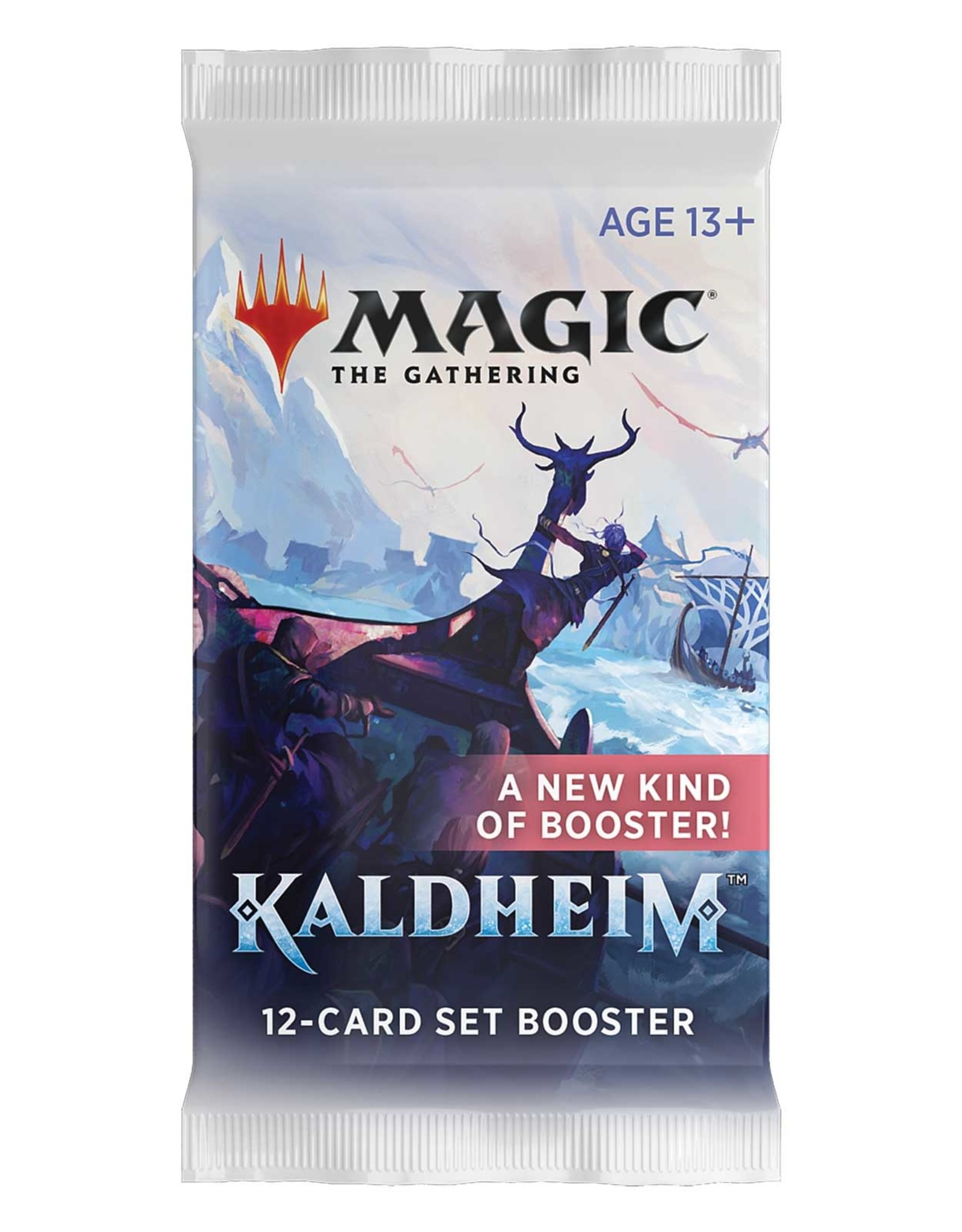 WIZARDS OF THE COAST MAGIC THE GATHERING KALDHEIM SET BOOSTER PACK
