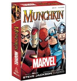 STEVE JACKSON GAMES MUNCHKIN MARVEL UNIVERSE