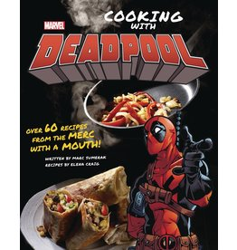 INSIGHT EDITIONS MARVEL COMICS COOKING WITH DEADPOOL HC