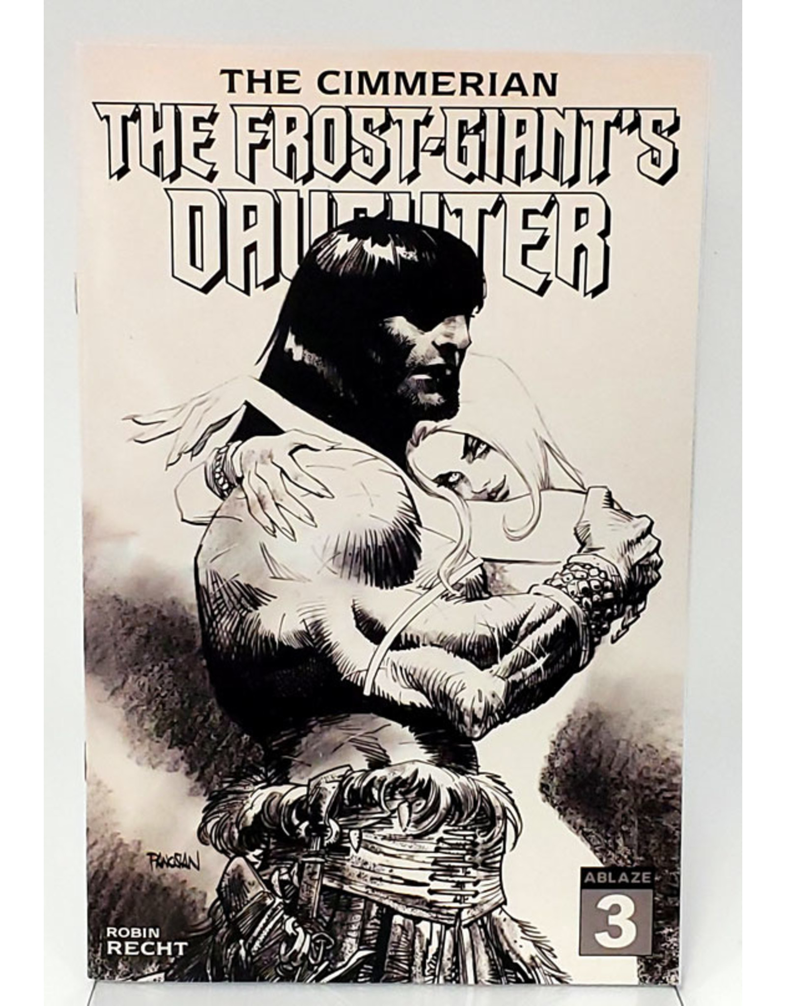 CIMMERIAN FROST GIANTS DAUGHTER #3 1:20 PANOSIAN PENCIL A
