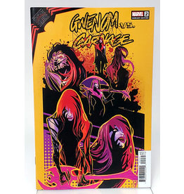 MARVEL COMICS KING IN BLACK GWENOM VS CARNAGE #2 (OF 3) 1:10 FLAVIANO DESIGN VA