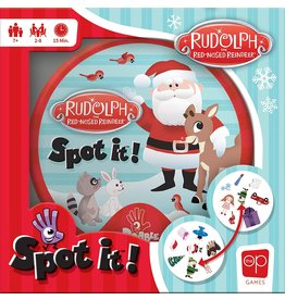 USAOPOLY SPOT IT! RUDOLPH