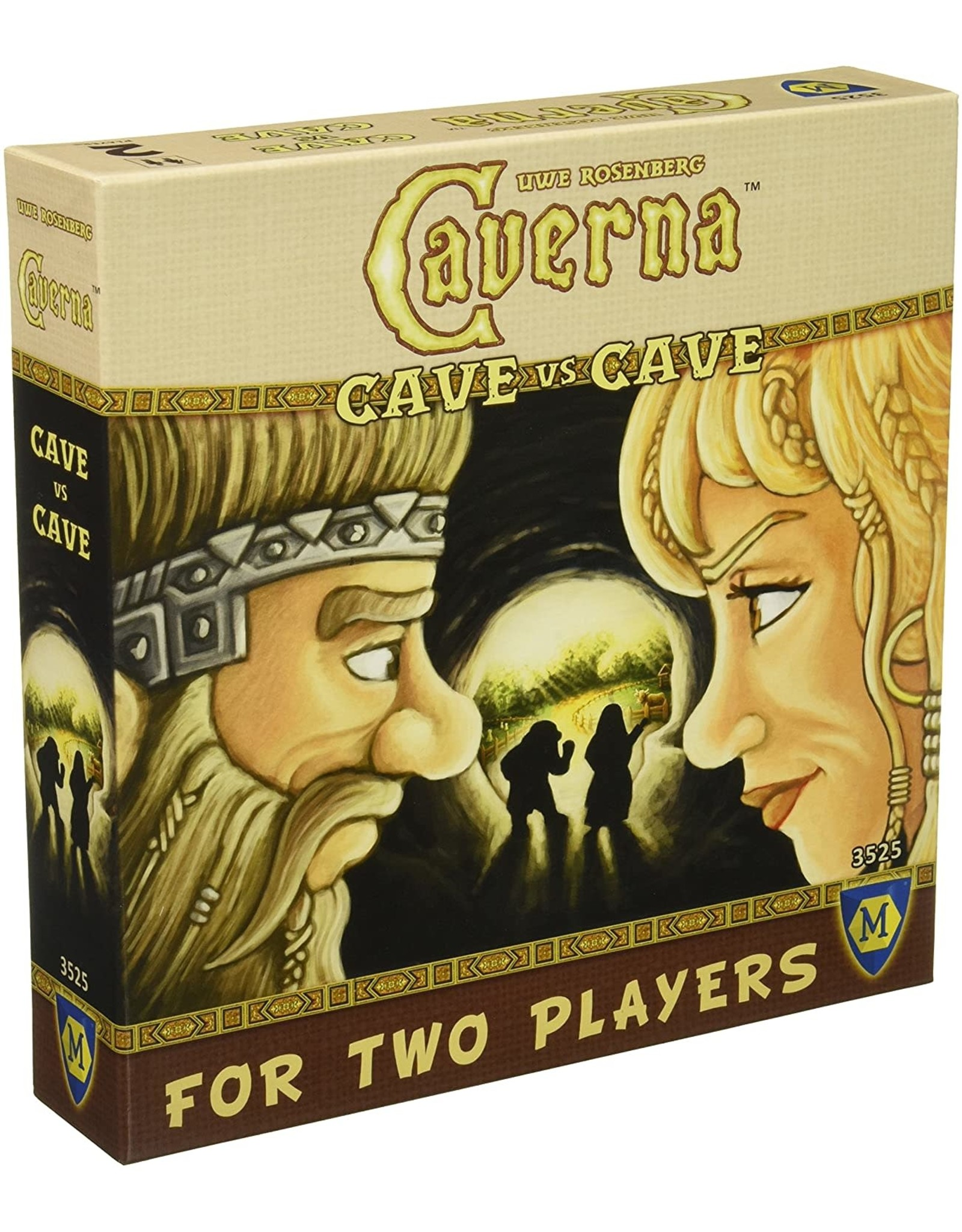 CAVERNA CAVE VS CAVE BOARD GAME