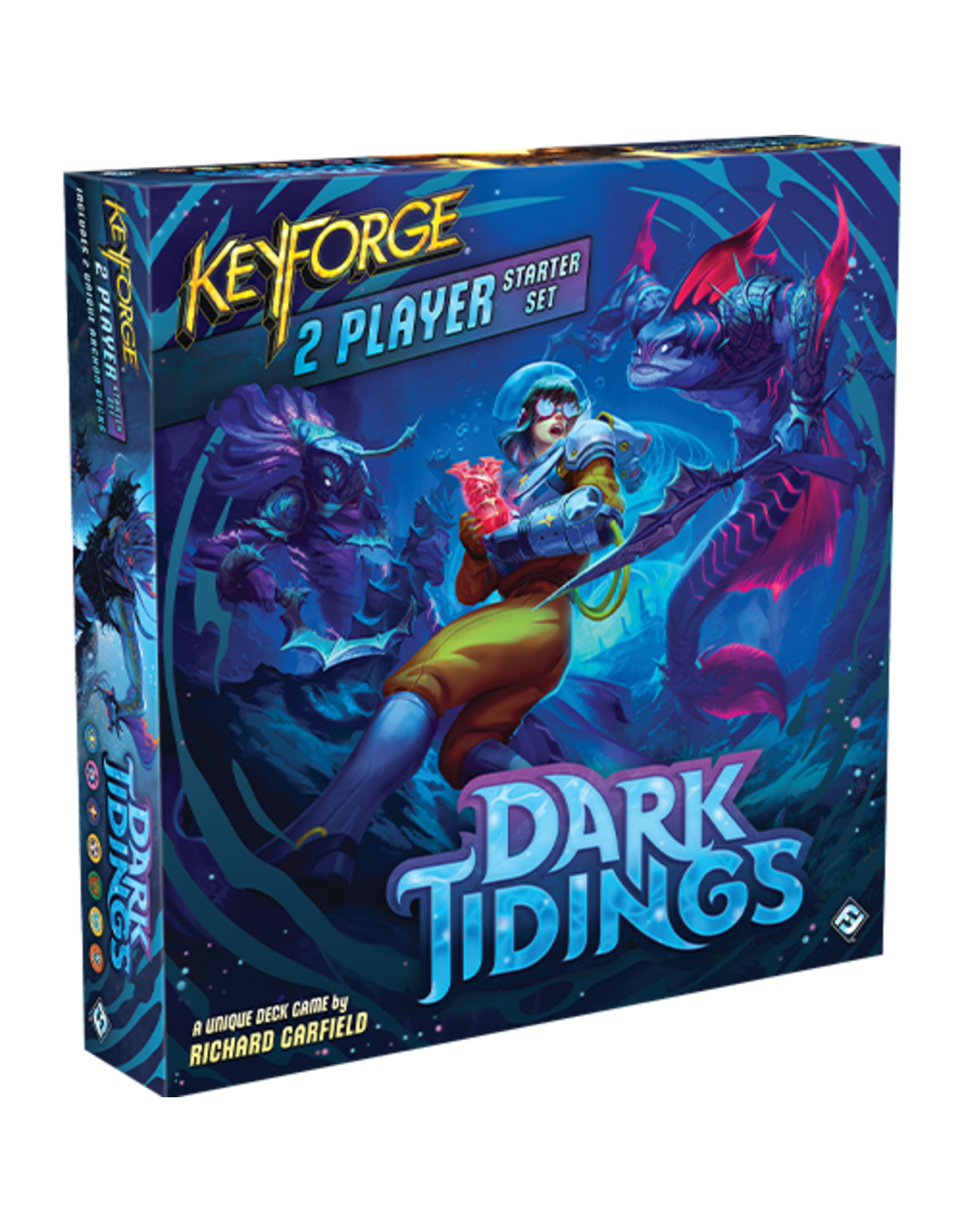 FANTASY FLIGHT GAMES KEYFORGE DARK TIDINGS 2-PLAYER STARTER KIT PRE-ORDER