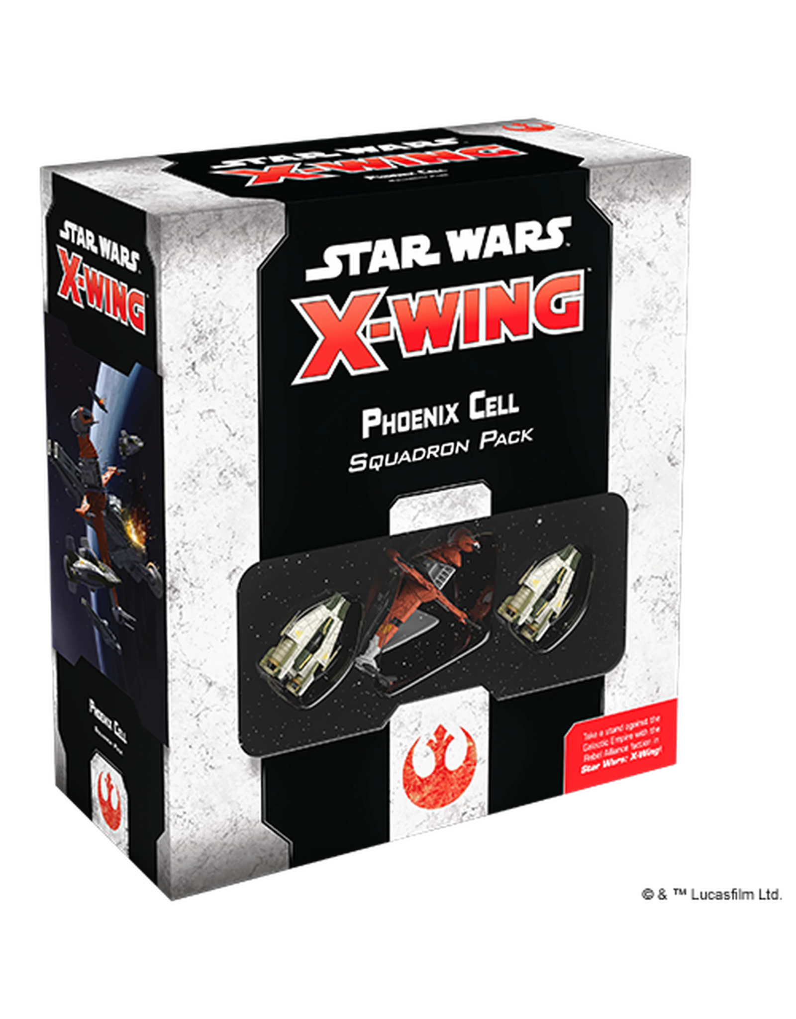 FANTASY FLIGHT GAMES X-WING 2ND ED: PHOENIX CELL SQUADRON PACK PRE-ORDER