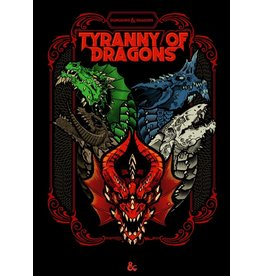 WIZARDS OF THE COAST D&D TYRANNY OF DRAGONS ALT COVER
